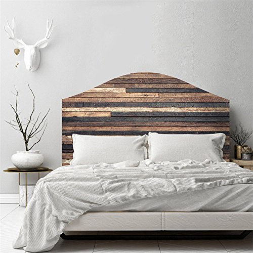 AmazingWall Bed Headboard Sticker Wall Decal Art Mural Wallpaper Self Adhesive DIY Home Decoration