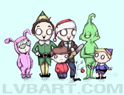 Christmas Pals Fine Art Print
