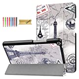 Case for Huawei MediaPad T3 8 inch - Dteck Lightweight Folio Tri-Fold Multiple Viewing Stand Cover for Huawei T3 8.0 Inch 2017 Release Tablet Model KOB-L09 KOB-W09/ Honor Play Pad 2 8', Tower