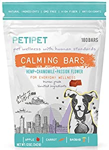 2. Petipet – Anti-Stress Relaxing Dog Calming Bites