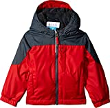 Columbia Toddler Boy's Ethan Pond Jacket, Bright Red, Graphite, 4T