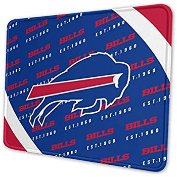 Kanteband Denver Broncos Non-Slip Rubber Mouse Pad Football Fan Mouse Pad 9.8 Inches X 11.8 Inches