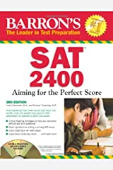 Barron's SAT 2400 with CD-ROM: Aiming for the Perfect Score Paperback