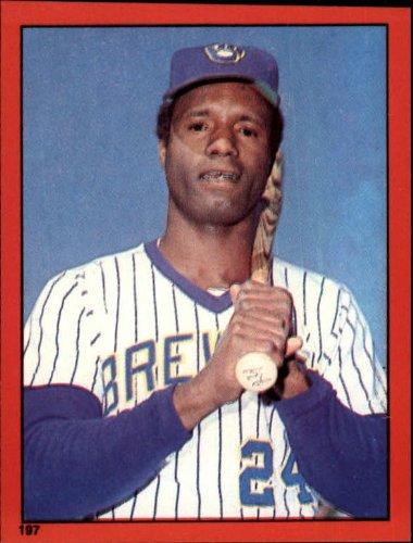 1982 Topps Baseball Sticker #197 Ben Oglivie Mint - Topps Baseball Sticker 1982