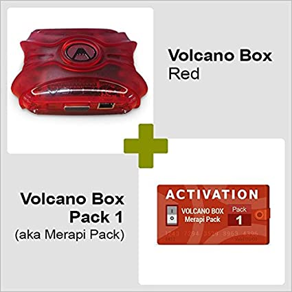 Volcano Box Red with Pack 1 - mobile unlocking software for phones flashing, repair and