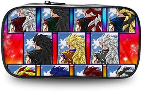 Dragon Ball Z Saiyan Anime Monedero 8 Pulgadas Estuche de lápices Útiles Escolares Papelería Bolsa de Almacenamiento Niños Niñas Regalos U: Amazon.es: Hogar