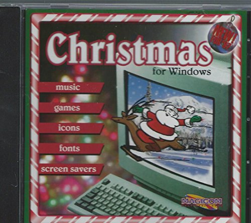 Christmas for Windows Fun Holiday Software,Screen Savers,Fonts,Music,Games,Icons,Clip Art,Activities,Fun Stuff For Thanksgiving and Halloween