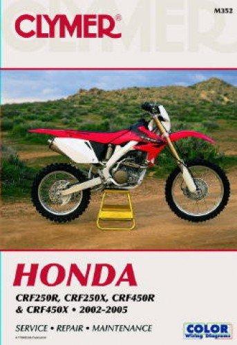 Honda  CRF250R (2004), CRF250X (2004) AND CRF450R 2002-2004 (CLYMER MOTORCYCLE REPAIR)