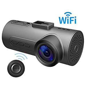 HaloCam C1 Plus Car Dash Cam FHD 1080P Car Cam WiFi Dashboard Camera with 170 Degree Wide Angle SONY Lens Super Night Vision G-sensor Loop Recording