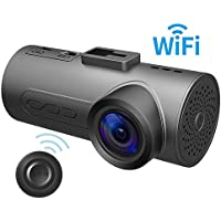 HaloCam C1 Plus Car Dash Cam FHD 1080P Car Cam WiFi Dashboard Camera with 170 Degree Wide Angle SONY Lens Super Night Vision G-sensor Loop Recording