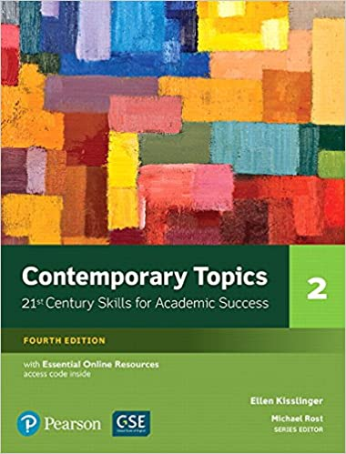 Amazon contemporary topics 2 with essential online resources amazon contemporary topics 2 with essential online resources 4th edition 9780134400808 ellen kisslinger books fandeluxe Image collections