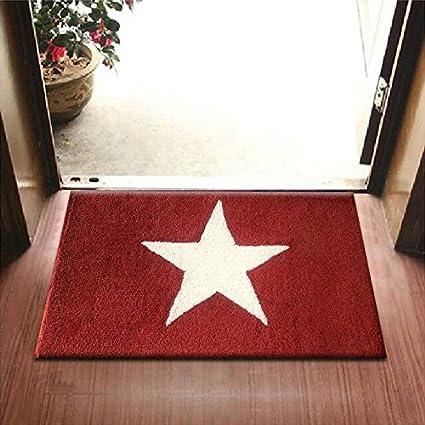 Anti Bacterial Rubber Back Doormats Front Door Mat Large Outdoor Indoor  Entrance Doormat 50 CM