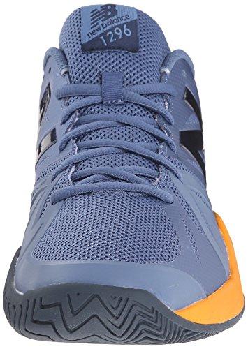 New Balance Men's 1296v2 Tennis Shoe Grey/Orange