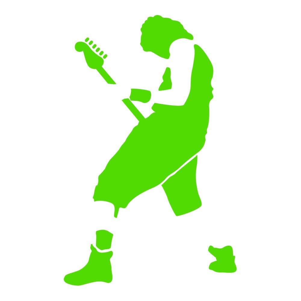 Azutura Gitarrist Wandtattoo Rockmusik Wand Sticker Kinder Schlafzimmer Haus Dekor Dekor Dekor verfügbar in 5 Größen und 25 Farben X-Groß Schwarz B00E7S96BA Wandtattoos & Wandbilder 500a89