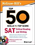 McGraw-Hill's Top 50 Skills - SAT Critical Reading and Writing 9780071613958