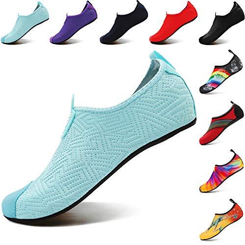 Aqua agua zapatos Light de Footwear Yoga mujer VIFUUR hombre Blue Para 4PnHpwTqx