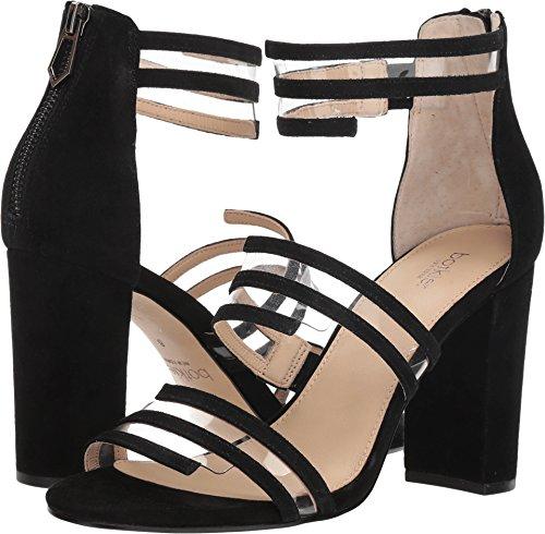 botkier Women's Grecia Strappy Sandals, Black, 8.5 M US