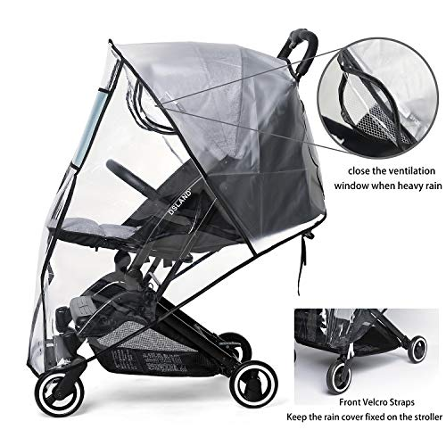 Stroller Rain Cover & Mosquito Net,Universal Baby Jeep Stroller , Protection Against Mosquitos,Clear - http://coolthings.us
