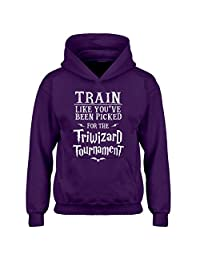 Indica Plateau Train for Triwizard Tournament Kids Hoodie