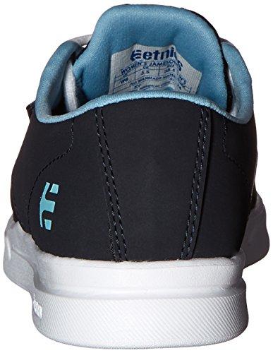Etnies Womens Jameson SC Ws Skateboarding Shoe Navy/White 4ZF7RGCDl