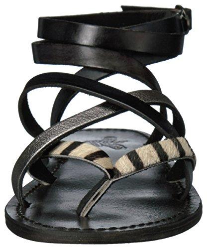 Sandalo Da Donna Baja Freebird Nero / Multi