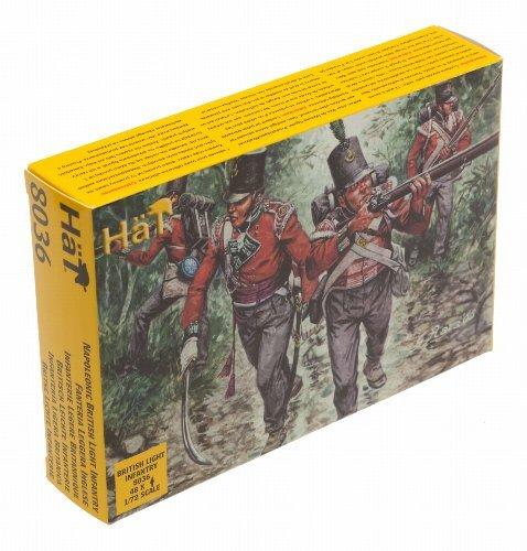 Napoleonic British Light Infantry (48) 1/72 Hat by Hat ()