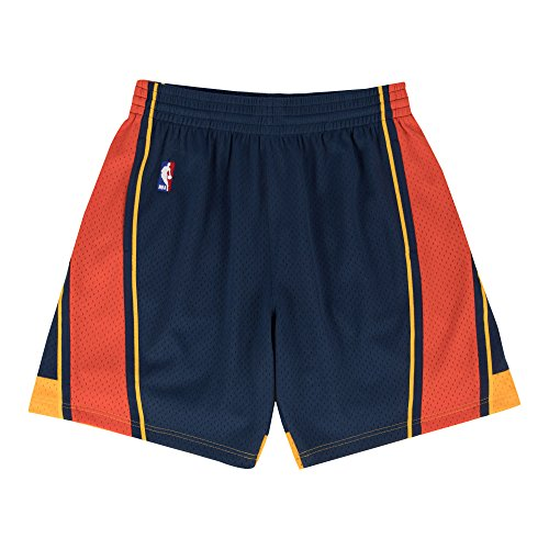 (Golden State Warriors Mitchell & Ness Navy Swingman Shorts (X-Large))