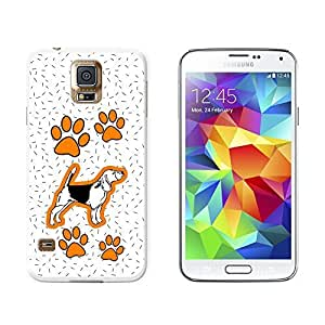 New Style Beagle of Brilliance - Snap On Hard Protective Case for Samsung Galaxy S5 - White