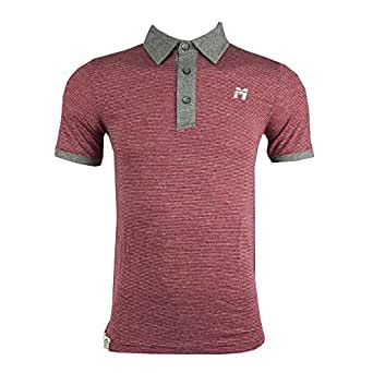 MATADOR Red Shirt Neck Polo For Men