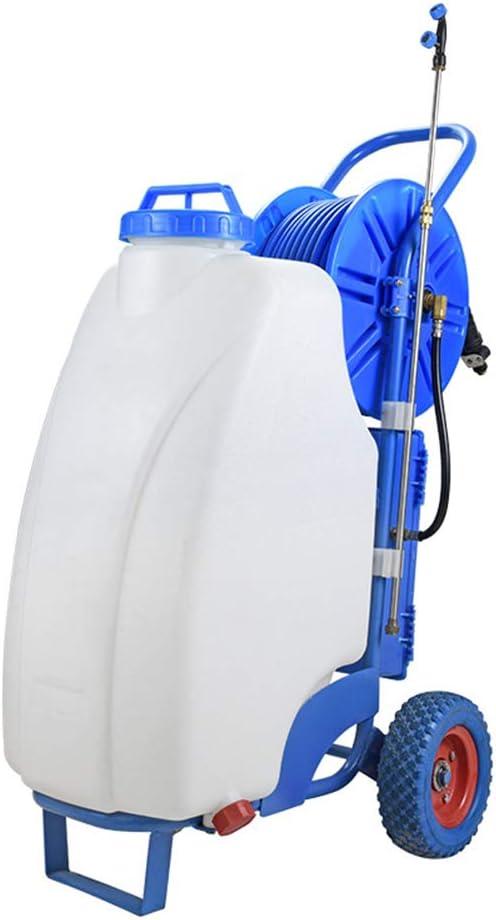 PBQWER Bleach Sprayer Pump Electric Powered in Garden Lawn Spray Garden Sprayer on Wheels Pressure Spot Sprayer