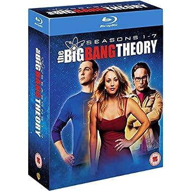 Big Bang Theory: Seasons 1-7 [Blu-ray][Region Free][UK Import]
