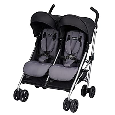 Evenflo Minno Twin Double Stroller, Glenbarr Grey by Evenflo that we recomend personally.