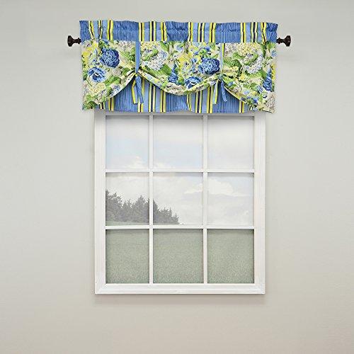 (WAVERLY Floral Flourish Window Valance, 52