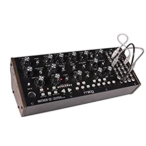 The Moog Mother-32 is the first tabletop semi-modular synthesizer from Moog. It is a distinctive analog instrument that adds raw analog sound, sequencing and extensive interconnectivity to any electronic or modular ecosystem. This expansive new live ...