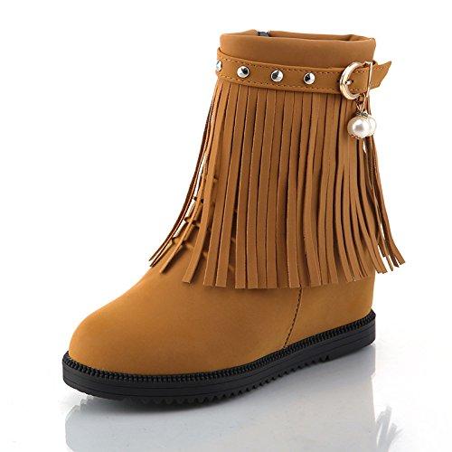 Land Tassel et en le Martin Femme courtes d'hiver court et Khskx confortable Bottes Chaussures increase Forty d'automne bottes S7XEwqz