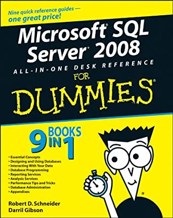 sql all in one for dummies pdf