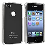 Best eForCity Waterproof iPhone 4 Cases - Insten Premium Hard Clear Crystal transparent Plastic Skin Review