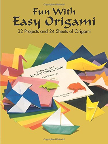 Dover Publications-Fun With Easy Origami (Dover Origami (Three Easy Paper Halloween Crafts)