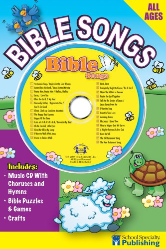 Download Bible Songs Sing Along Activity Book with CD (Sing Along Activity Books) PDF