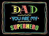 Dad You Are My Superhero: Fill in the blank book