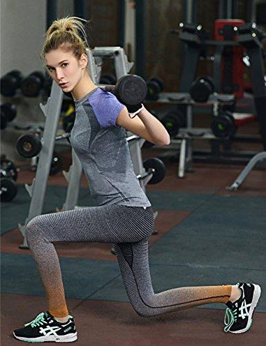 Fashionbabies - Medias deportivas - para mujer naranja
