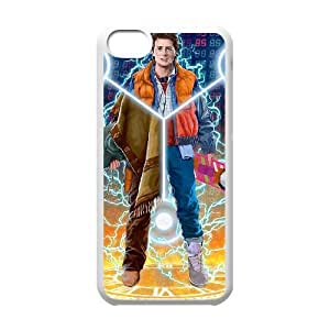 Back To The Future iPhone 5c Cell Phone Case White gift pp001_6414590