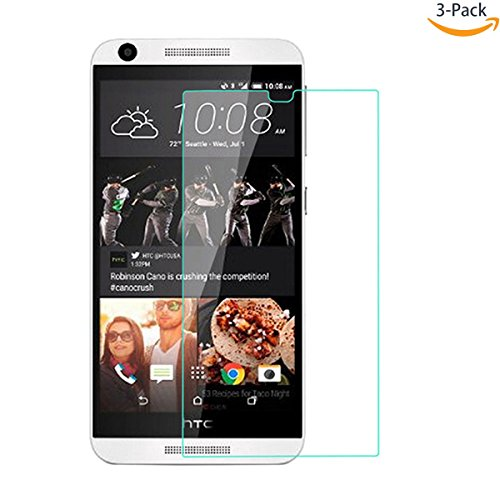 Tempered Glass Clear Screen Protector for Htc Desire Eye - 3