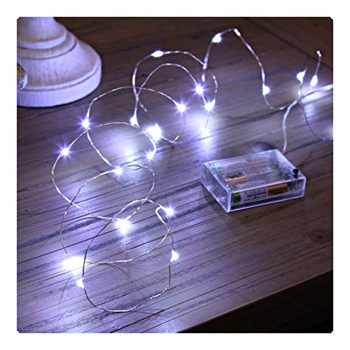 Led Fairy Lights, Sanniu Battery Powered String Lights, Battery Operated Fairy Lights for Bedroom