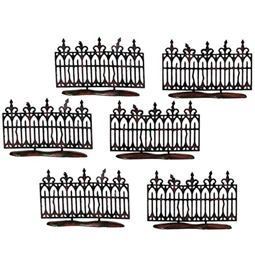 Department 56 Halloween Spooky Tree (Department 56 Halloween Accessories for Village Collections Spooky Miniature Fence Figurine Set, 2 Inches,)