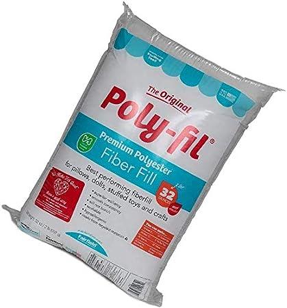Fairfield Poly Fil Premium Fiber Fill 32-Ounce 2 Pack