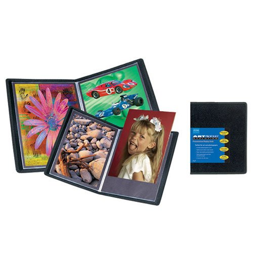 Itoya 4 x 6'' Art Profolio Evolution Presentation & Display Book Album 12 Pack by Itoya