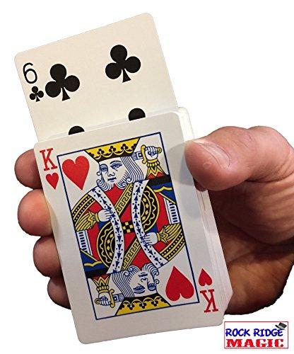 Rock Ridge Magic Rising Card Deck Trick - Red - Learn Card Magic Tricks