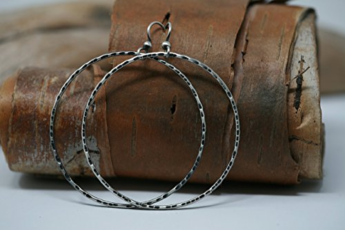 Rustic Tribal/Minimalist Style Sterling Silver Large 2