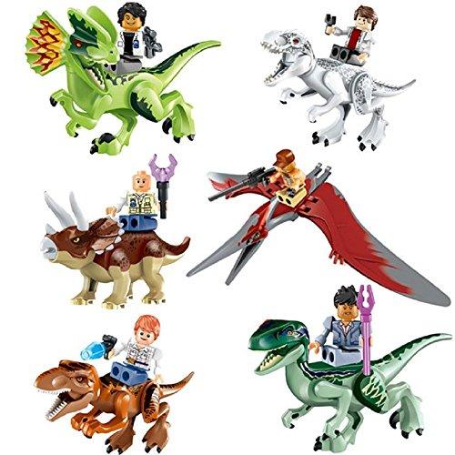 Oliasports Arrival Minifigures Dinosaurs Building